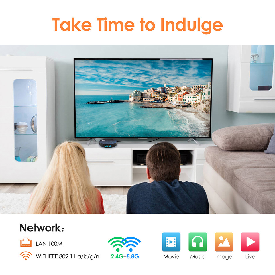 IPTV Italia Arabic French Android 8.1 HK1Plus smart box with Popular channels box 4G 64G Dual-Band Wifi BT4.0 Spain Tunisia IPTV (15)