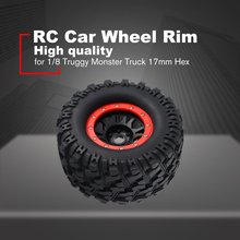 2PCS AUSTAR 3013R Wheel Rim Tire for Redcat Hsp Kyosho Hobao Hongnor Team Losi GM HPI 1/8 Truggy Monster Truck 17mm Hex Rubber 4pcs 1 8 rc car rubber tyres plastic wheels for redcat team losi vrx hpi kyosho hsp carson hobao 1 8 buggy on road car