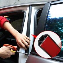 Sticker Door-Seal Weatherstrip Trim Auto-Accessories Rubber Pillar Noise-Insulation Car