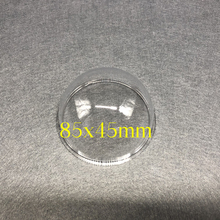 Yeni Hikvision Samsung CCTV kamera şeffaf koruyucu kapak HD dış şeffaf cam koruma Dome Mini yarım küre kabuk 85mm