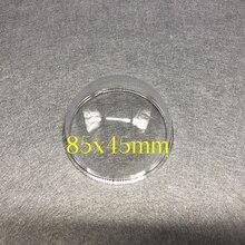 新のhikvisionサムスンcctvカメラ透明保護カバーhd外クリアガラス保護ドームミニ半球シェル85ミリメートル
