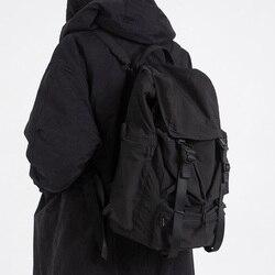 Sac d'école gothique unisexe pour femmes, sac à dos noir Streetwear, cartable de voyage, grands sacs pour adolescents, nouvelle collection 2020 décontracté
