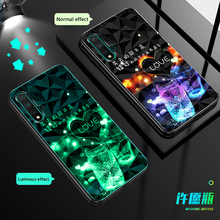3D Glitter Luminous Case For huawei Honor 20 Pro 30S 10i 20i 10 Lite 8X 9X 9A shockproof Back Cover For Honor View V30 V20 Cases leather texture matte mobile phone case for huawei honor 30 v30 pro 30s 30 v30 v20 20i 20 10 9x 8x note10 phone cover