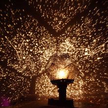 Romantische Planetarium Projector Night Star Sky Night Lamp Voor Thuis Slaapkamer Decor Led Starlight Projector Nachtverlichting Baby Gift