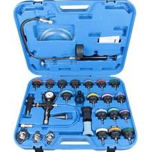 New! 28pcs Master Cooling Radiator Pressure Tester With Vacuum Purge & Refill Kits UniversaCooler Breaker Cylinder Head Tester