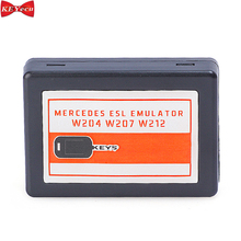 KEYECU ESL ELVล็อคพวงมาลัยEmulatorสำหรับMercedes Benz W204 W207 W212ใช้งานร่วมกับAbrites VVDI CGDI MBเครื่องมือ