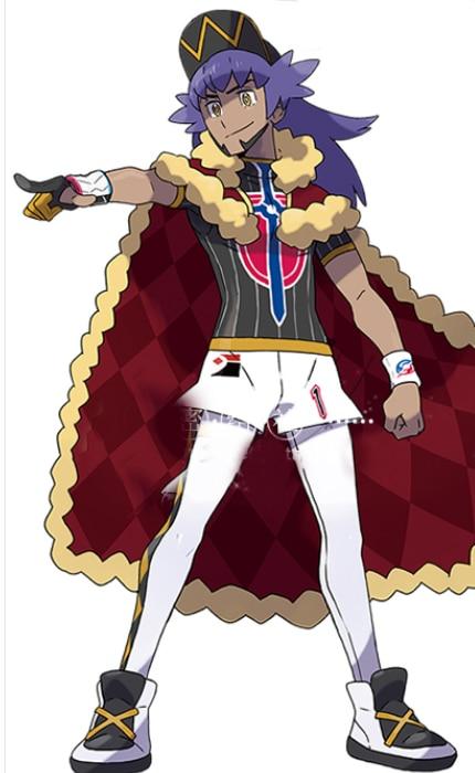 Pokemon Pokémon Sword Shield Leon Cosplay Costume custom made