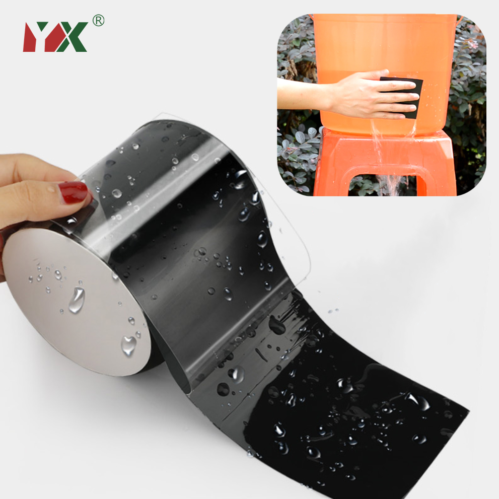150x10cm Super Strong Duct Waterproof Tape Stop Leaks Seal Repair Tape Performance Self Fix Tape Pipe Adhesive Tape