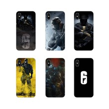 Tom Clancy Rainbow Six Siege For Huawei G7 G8 P7 P8 P9 P10 P20 P30 Lite Mini Pro P Smart Plus 2017 2018 2019 Mobile Phone Covers(China)