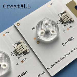 Image 4 - LED Backlight Strip 6 สำหรับTCL U50S6806S L50E5800A LVU500NDEL SW 4C LB5006 YH2 4C LB5006 HR2 LB5005 TMT_50E5800_8X6_3030C