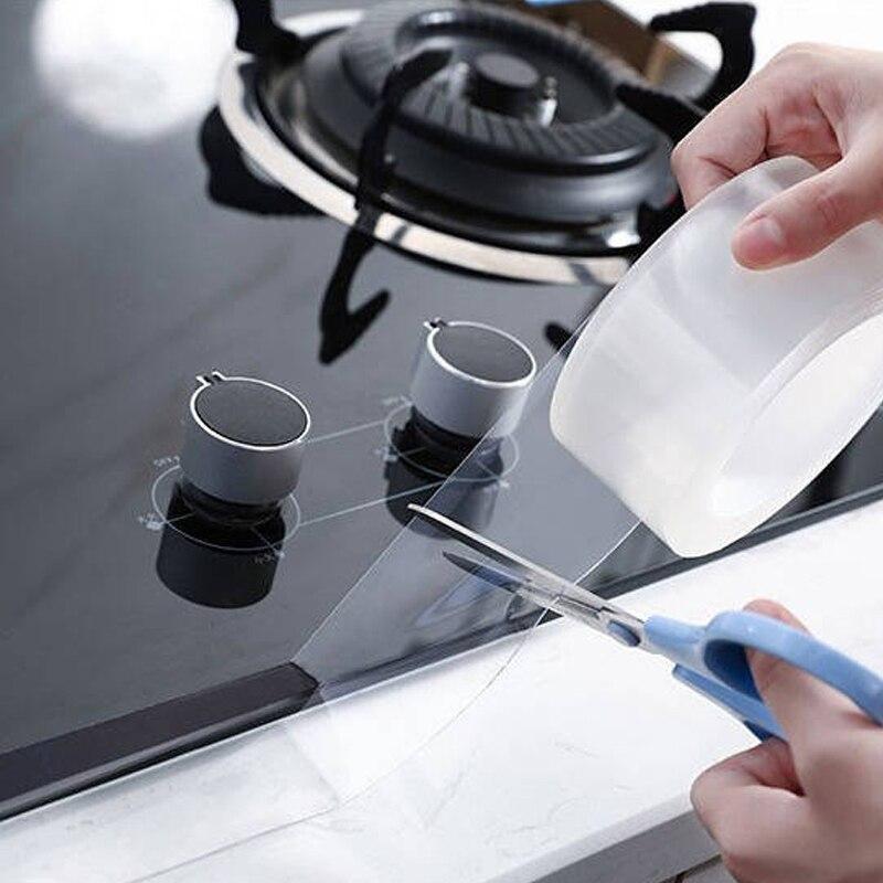Tape Home Mildproof Waterproof Tape Multifunction Kitchen Stove Sink Waterproof Stickers Oil Proof Mildew Bathroom Tape