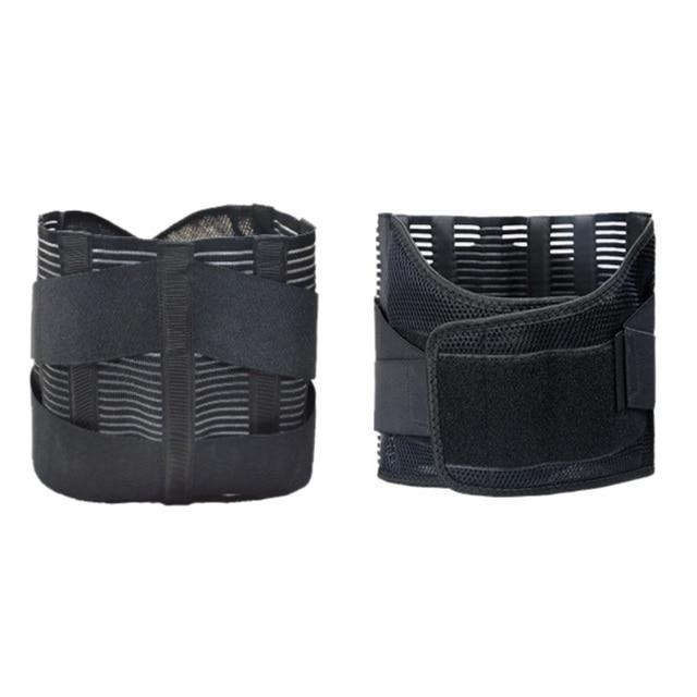 Orthopedic Posture Corrector Brace New Elastic Adjustable Lower Back Waist Trimmer Belt Lumbar Support Belt Corset Men Women 5