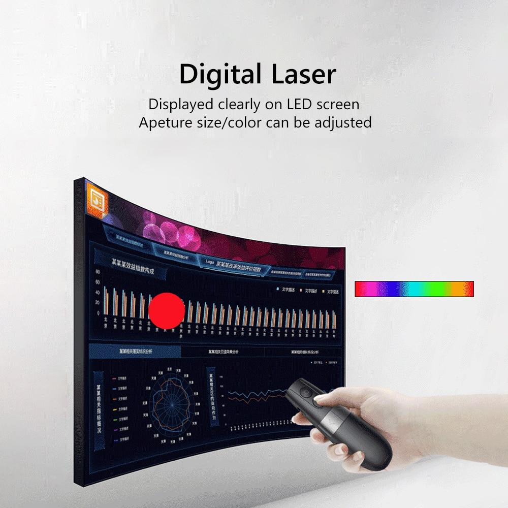 Image 2 - AVATTO Spotlight/Magnifier/Digital Laser Presentation Pointer,PPT  PowerPointer Wireless Presenter Remote Clicker Pen for TeacherRemote  Controls