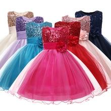 Los niños de Halloween traje de niña princesa vestido de niño, 7 colores, caramelo vestidos de boda para niñas flores regalo para niños para vacaciones