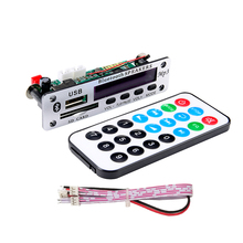 цена на MP3 Bluetooth Player Decoder APE Board 12V Wireless Audio Module USB MP3 Lossless Music Player Decoding Car Electronics DIY KIT