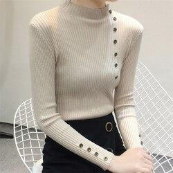 Women Sweater Turtleneck Sweaters Women Korean Fashion Woman Knitted Sweater Women Sweaters and Pullovers Winter Clothes Women 6