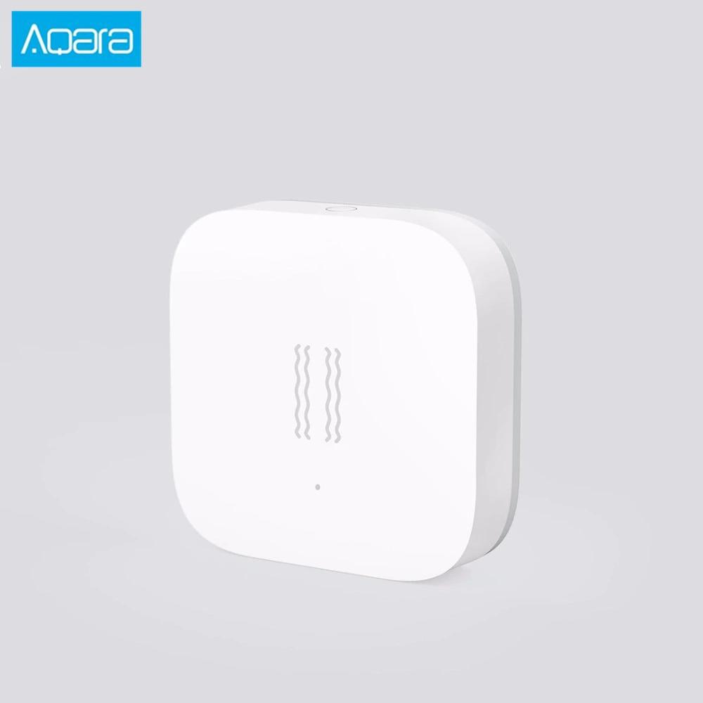 New Aqara Shock Sensor Aqara Smart Motion Sensor Vibration detection Alarm Monitor for Smart  appSmart Remote Control   -