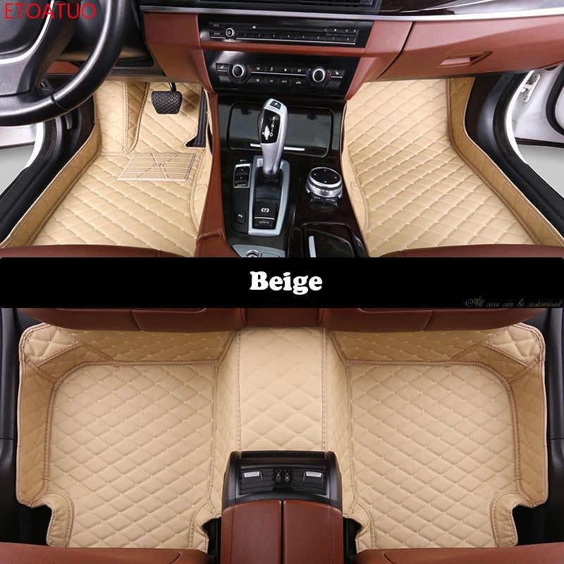 مخصص سيارة الحصير ل BMW جميع نماذج X3 X1 X4 X5 X6 Z4 f30 f10 f11 f25 f15 f34 e46 e90 e60 e84 e83 e70 e53 g30 e34 سيارة الحصير