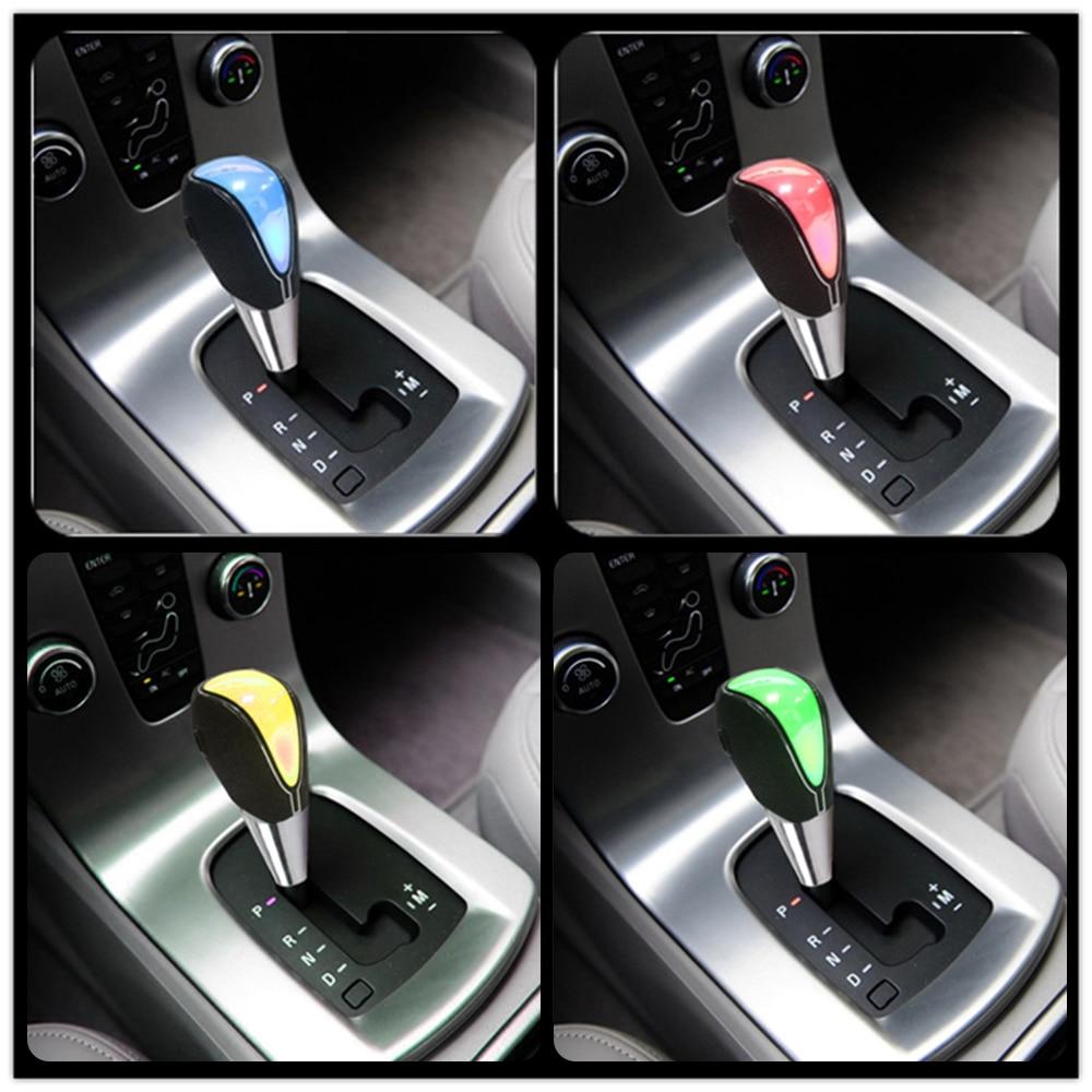 AUDEW Wood Lever PU Leather Car Universal Truck 5 Speed Manual Gear Stick Knob Maj Gloss Hot Sale #