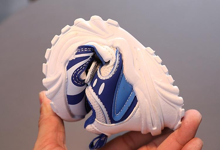 Sapatos tênis respirável para meninos crianças leves