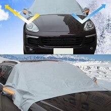 Высокое качество Универсальный автомобильный солнцезащитный козырек Снежный блок протектор толще лобовое стекло анти-Мороз Снежный чехол Новое поступление