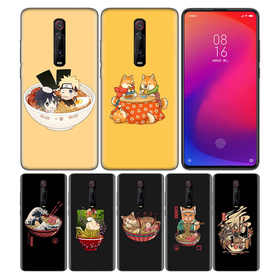 Силиконовый чехол-накладка для Xiaomi mi a1 A2 A3 8 Lite Play 9T CC9 Red mi Note 5 7 8 6A 7S Y3 K20 Pro Great Ramen Wave Japan