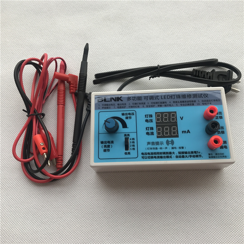 NEW 0-180V Output LED TV Backlight Tester LED Strips Test Tool With Current And Voltage Display For All LED Application
