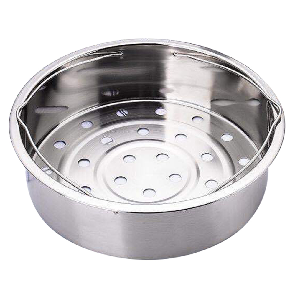 Stainless Steel Pot Steamer Basket Egg Steamer Rack Divider For Pressure Cooker Pot VJ-Drop
