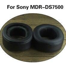 Vervanging Schapenvacht Oorkussen Voor Sony MDR DS7500 Hoge Kwaliteit Zacht Memory Foam Oorkussens Kussen Voor MDR DS7500 Hoofdtelefoon