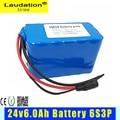 24 v Батарея 6Ah 6S3P 18650 Батарея литий Батарея 24 v электрический велосипед мопед/Электрический/комплект литий-ионный батарей Батарея BMS для Laudation