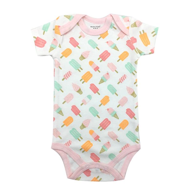 Baby Bodysuit Newborn Baby Boys Girls Clothing Short Sleeve 3 6 9 12 18 24 Months Kids Clothes
