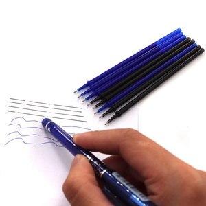 12/20 шт./компл. гелевая ручка для офиса стержень со стираемыми чернилами стержень стираемая ручка моющаяся ручка 0,5 мм синие черные зеленые чернила школьные канцелярские принадлежности для письма
