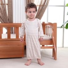 2 Pieces Newborn Baby Girl Boy Cotton Gown Outfit Romper Pajamas Set Sleepwear Night Dress
