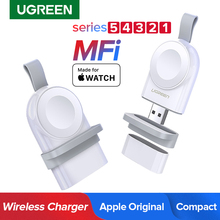 Ugreen Wireless Charger Charger Series 5 4 3 2 1 Portable MFi USB Charger For Apple 3 Magnetic Wireless Charging
