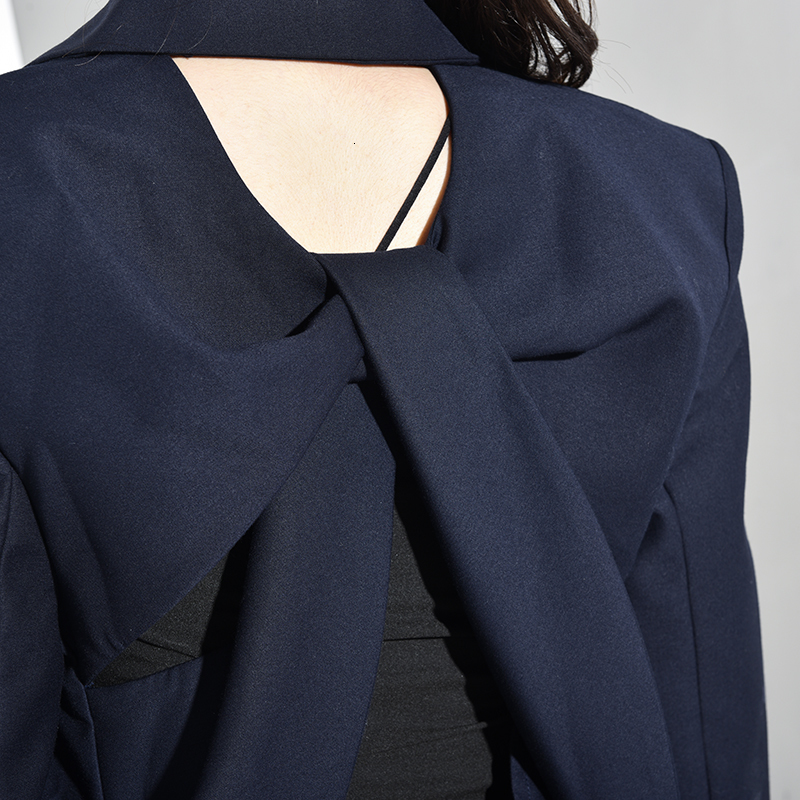 Fit Sleeve Lapel Backless 16