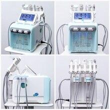 Гидра дермабразия уход за кожей красота машина вода кислород Алмазная дермабразия чистка лица 6 в 1 Вода Аква пилинг устройство