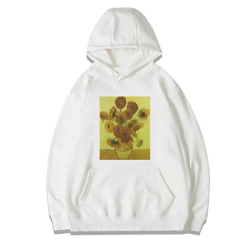 VAN GOGH Oil Painting Mens/women Hoodies Sweatshirts Unisex Long Sleeve Hooded Hoodie Casual Hoody For Girl Boy