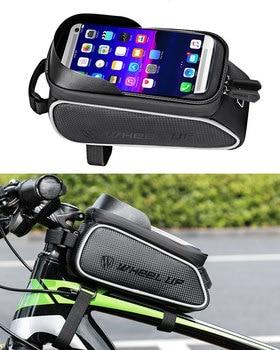 Waterproof Bicycle Bike Phone Bag Holder for iphone Samsung Smartphone Bike Handlebar Mobile Phone Holder Touch Screen Bag Case