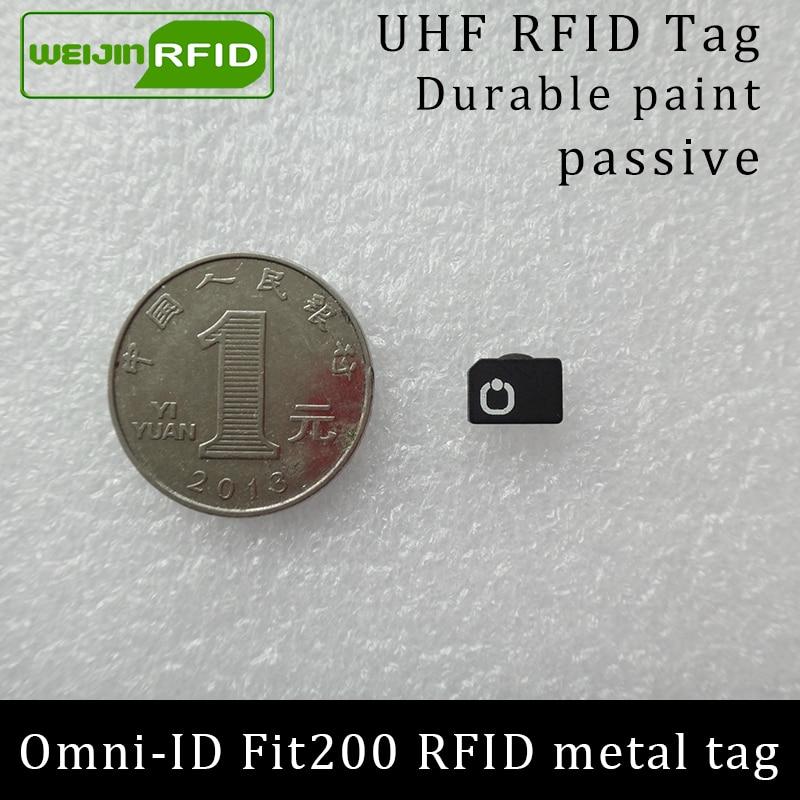 UHF RFID антиметален етикет omni-ID fit200 fit 200 - Сигурност и защита