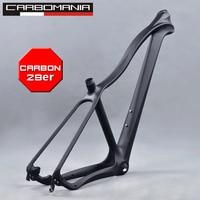 carbon frame mtb 29er bike frame type cross country mountain bicycle frame disc brake fit for 135*9mm hub mtb frame 29 Hard tail