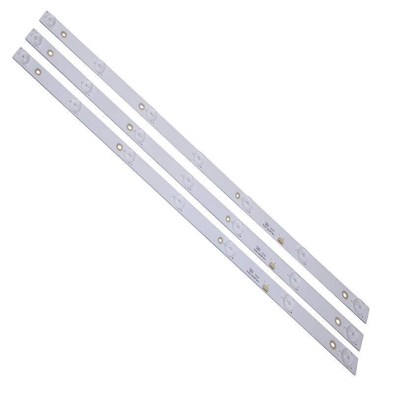 3pcs X 32 Inch LED Backlight Strips INSIGNIA ShineON 2D02296 REV.E For TV NS-32D310NA17 60cm