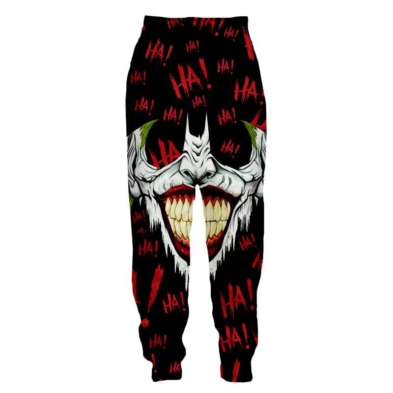 LIASOSO 3d Print Men Women Jack Joker Venom Batman Sweatpants Casual Sweat Pants Jogging Jogger Long Pants Youth Pants X2700