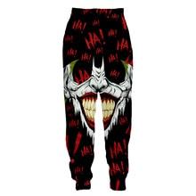 LIASOSO 3d Print Men Women Jack Joker Venom Batman Sweatpants Casual Sweat