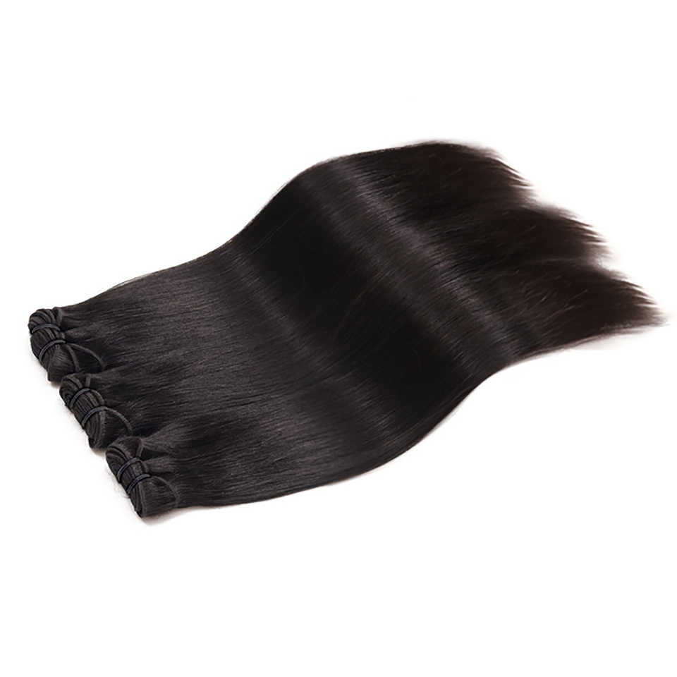 Paquetes de extensiones de cabello virgen de Color Natural 100% cabello humano 1/3 piezas 10A DJSbeauty