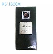 Процессор AMD Ryzen 5 1600X R5 1600X 3,6 ГГц шестиядерный двенадцатипоточный ЦПУ 95 Вт Разъем AM4