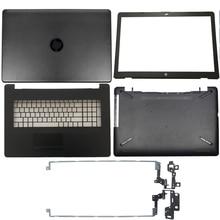 מחשב נייד LCD כיסוי אחורי/קדמי לוח/LCD צירים/Palmrest/תחתון מקרה עבור HP 17 BS/AK/BR סדרת 933293 001 926527 001 933298 001
