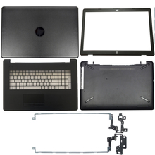 Laptop LCD Back Cover/Front bezel/LCD Hinges/Palmrest/Bottom Case For HP 17 BS/AK/BR Series 933293 001 926527 001 933298 001
