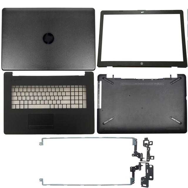 Ordinateur portable LCD, charnière arrière/lunette avant/accoudoir/boîtier inférieur, pour HP 17 BS/AK/BR séries 1995 001, 1995 001, 1995 933293, 926527