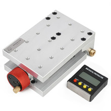Hole-Puncher Woodworking Multifunctional Inclinometer Angle Aluminum Jig Display Positioning-Fixture