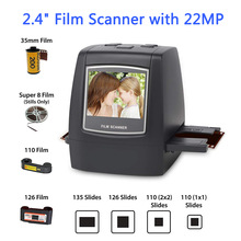 Film-Scanner Converts Image-Viewer Photo Digital 110/super-8 with 22MP LC